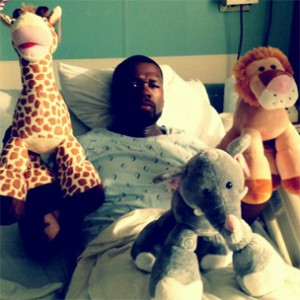 """50 Cent On Hospital Stay, Lloyd Banks """"On His Own"""" & Peace With Cam'Ron"""