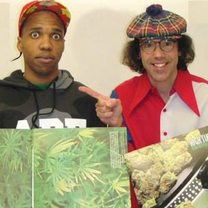 "Nardwuar Interviews Curren$y For Pharrell Williams' ""i am OTHER"" Venture"