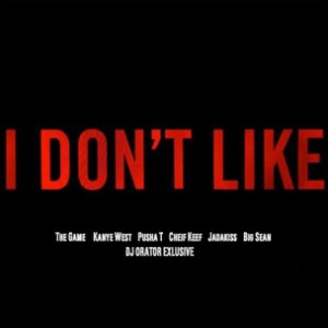 Game f. Chief Keef, Kanye West, Pusha T, Jadakiss & Big Sean - I Don't Like Rmx