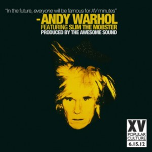 XV f. Slim The Mobster - Andy Warhol