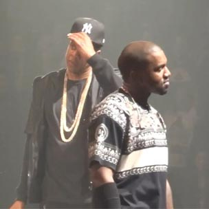 "Jay-Z & Kanye West Perform ""Ni**as In Paris"" Eleven Times In Paris, France"
