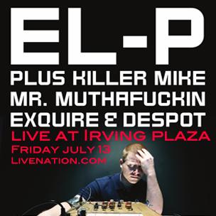 EL-P Concert Ticket Giveaway