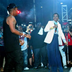 Nas Brings Out Lauryn Hill At Hot 97's Summer Jam 2012