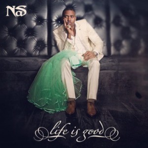 """Nas Discusses Kelis' Reaction To Her Wedding Dress On The """"Life Is Good"""" Cover Art"""