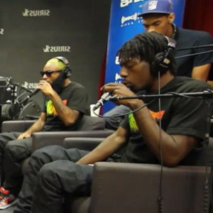 "Flatbush Zombies - ""Thug Waffle [Sway In The Morning Performance]"""