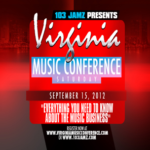 Virginia Music Conference Ticket Giveaway