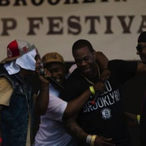 Busta Rhymes Reunites On Stage With Leaders Of The New School