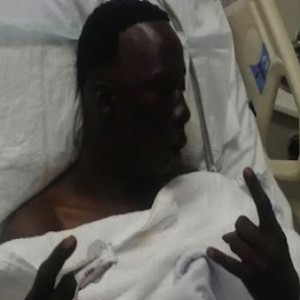 Three 6 Mafia's Crunchy Black Shot & Hospitalized