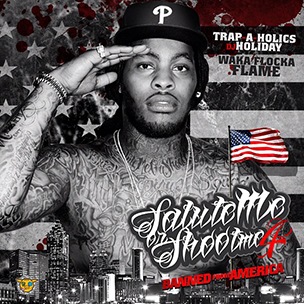 "Waka Flocka Flame ""Salute Me Or Shoot Me 4"" Mixtape Tracklist & Cover Art"