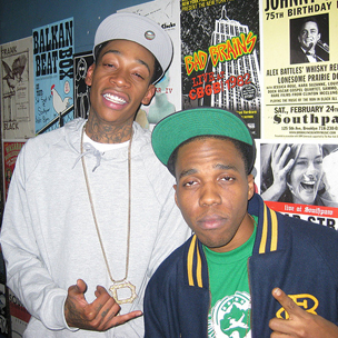 "Wiz Khalifa & Curren$y Delay ""Live In Concert"" Mixtape"