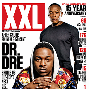 Dr. Dre & Kendrick Lamar Cover XXL Magazine's 15th Anniversary Issue