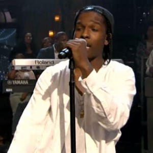 "A$AP Rocky f. The Roots - ""Goldie [Jimmy Fallon Performance]"""