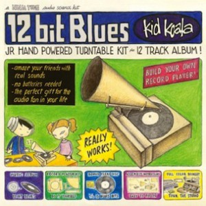 """Deltron 3030's Kid Koala To Release """"12 Bit Blues,"""" Packaging Includes Hand-Powered Turntable"""