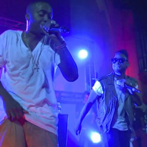 """Nas f. Miguel - """"Summer On Smash [Vitaminwater & Fader Uncapped Performance]"""""""