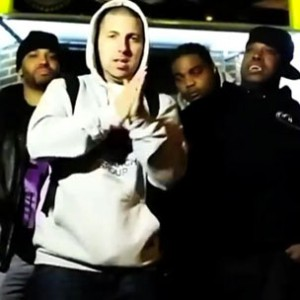 "Snowgoons f. Termanology, Lil Fame, Sean P, Ruste Juxx, Justin Time & H.Stax  - ""Get Off The Ground"""