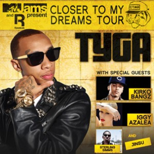 Tyga Concert Ticket Giveaway