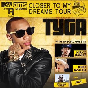 Tyga Concert Ticket Giveaway
