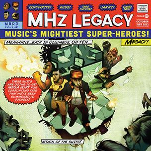 "MHz Legacy ""MHz Legacy"" Tracklist & Cover Art"