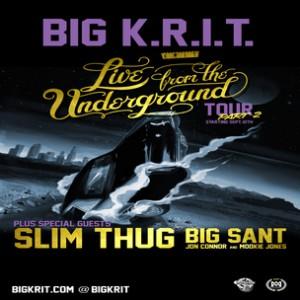 Big K.R.I.T. Concert Ticket Giveaway