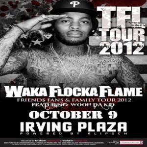 Waka Flocka Flame Concert Ticket Giveaway