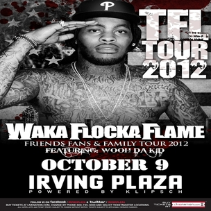 Waka Flocka Flame Concert Ticket Giveaway