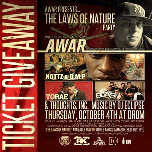 AWAR Concert Ticket Giveaway