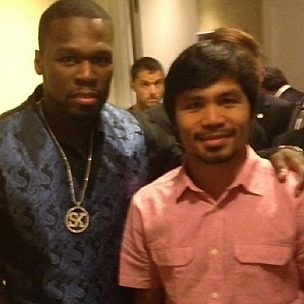 Manny Pacquiao Speaks On Boxing Promotion Deal With 50 Cent