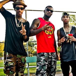 "Game f. Chris Brown, Tyga, Wiz Khalifa & Lil Wayne - ""Celebration"""