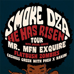 "Smoke DZA Announces ""He Has Risen"" Tour With Mr. Muthafuckin' eXquire & Flatbush Zombies"