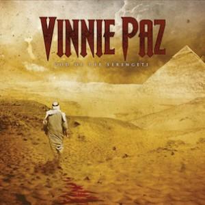 "Vinnie Paz ""God Of The Serengeti"" Tracklist, Production Credits & Cover Art"