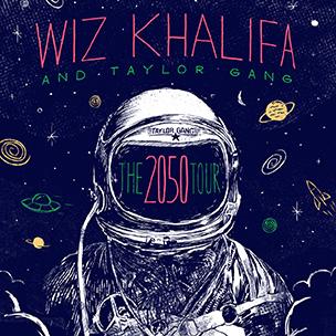"Wiz Khalifa & Taylor Gang Announce ""2050 Tour"""