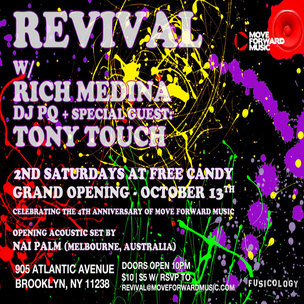 Revival x Rick Medina x Tony Touch Event Giveaway