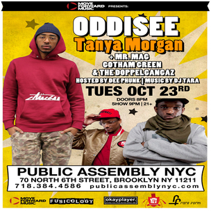 Oddisee & Tanya Morgan Concert Ticket Giveaway