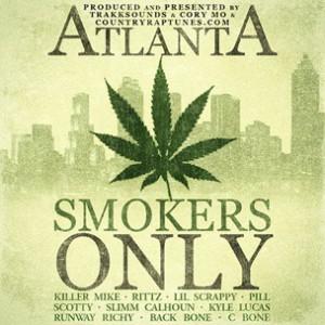 Trakksounds & Cory Mo f. Killer Mike, Rittz, Lil Scrappy, Pill, Scotty, Slimm Calhoun, Kyle Lucas, Runway Richy, BackBone & Blackowned C-Bone - Atlanta Smokers Only