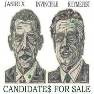 Jasiri X f. Invincible & Rhymefest - Candidates For Sale