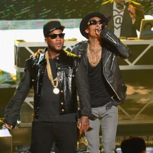 """Wiz Khalifa f. Young Jeezy & Juicy J - """"Work Hard"""" [BET Hip Hop Awards 2012]"""