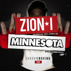 """Zion I """"Shadowboxing"""" Album Stream"""