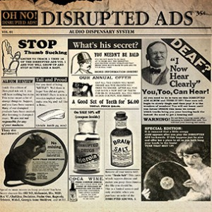 """Oh No """"Disrupted Ads"""" Tracklist & Cover Art"""