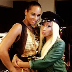 "Alicia Keys f. Nicki Minaj - ""Girl On Fire [Inferno Version]"""