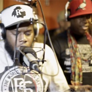 "Freeway & Talib Kweli - ""P.A. / Outstanding [Showoff Radio Performance]"""