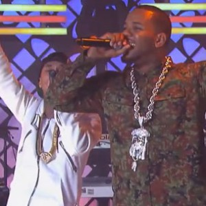 "Game f. Tyga - ""Celebration [Jimmy Kimmel Performance]"""