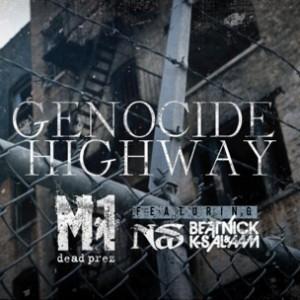 M1 f. Nas - Genocide Highway
