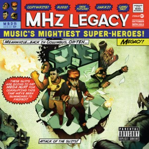 MHz Legacy f. Blu - Yellow + Blue