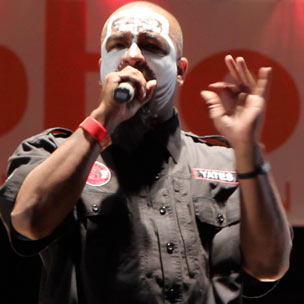 "Tech N9ne Preps ""Hostile Takeover"" Special For MTV2"