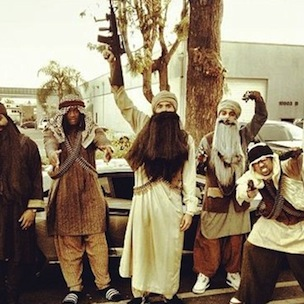 Chris Brown Appears In Controversial Arab Terrorist Halloween Costume