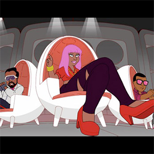 "Nicki Minaj, Kanye West, will.i.am & More Appear On ""The Cleveland Show"""