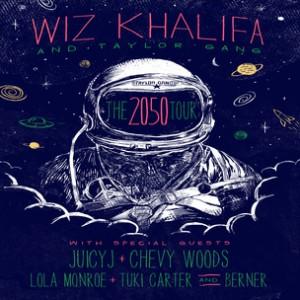 Wiz Khalifa Concert Ticket Giveaway