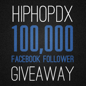 HipHopDX 100,000 Facebook Follower Giveaway