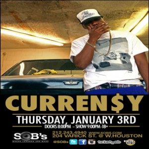 Curren$y Concert Ticket Giveaway