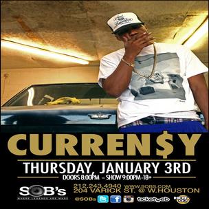 Curren$y Concert Ticket Giveaway